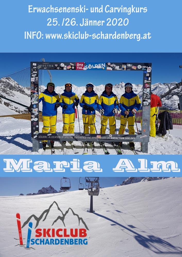 Erwachsenen/Carving Skikurs/2-Tages-Skifahrt