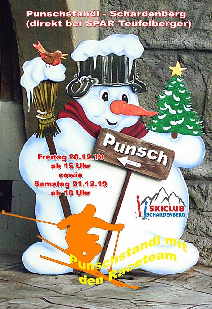 Adventszeit - Punschhütte